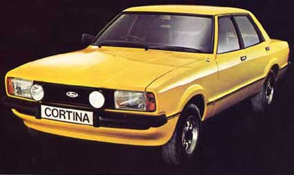 The Ford Cortina Mark 4