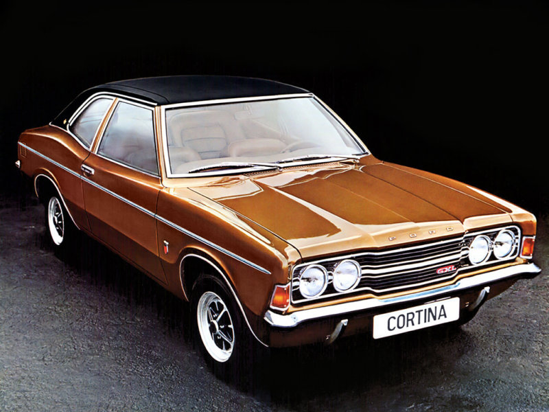 The 1970 Mark 3 Ford Cortina