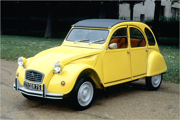 2CV driven by Roger Moore as James Bond in For Your Eyes Only