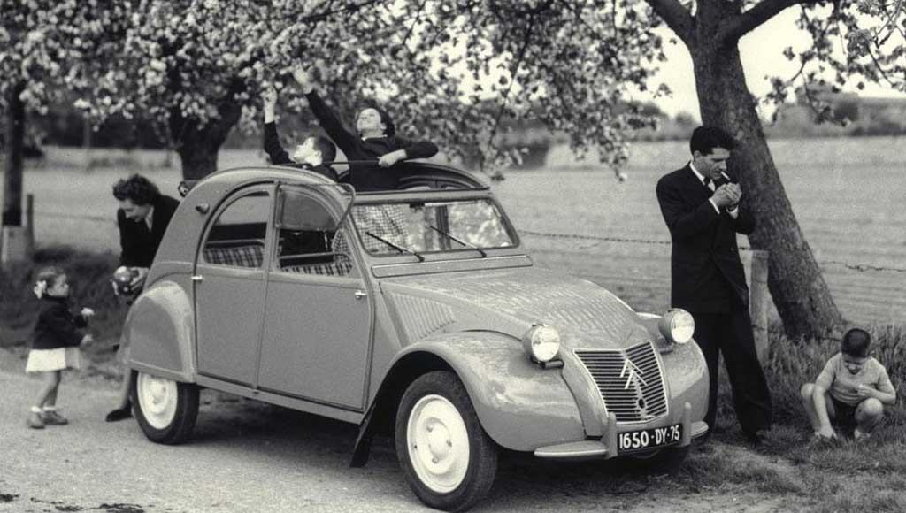 1948 version of the Citroen 2CV