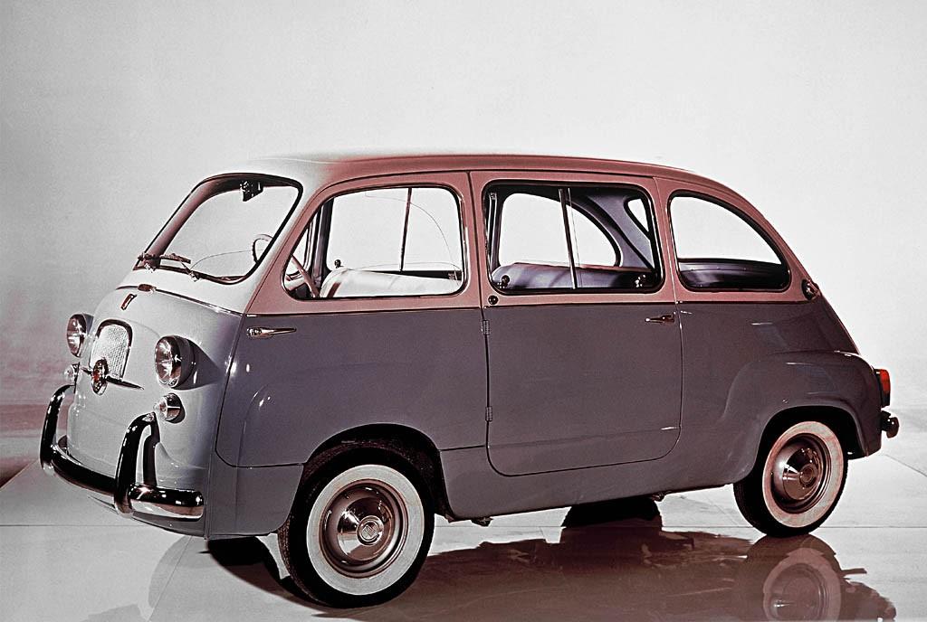 The extraordinary Fiat Multipla estate