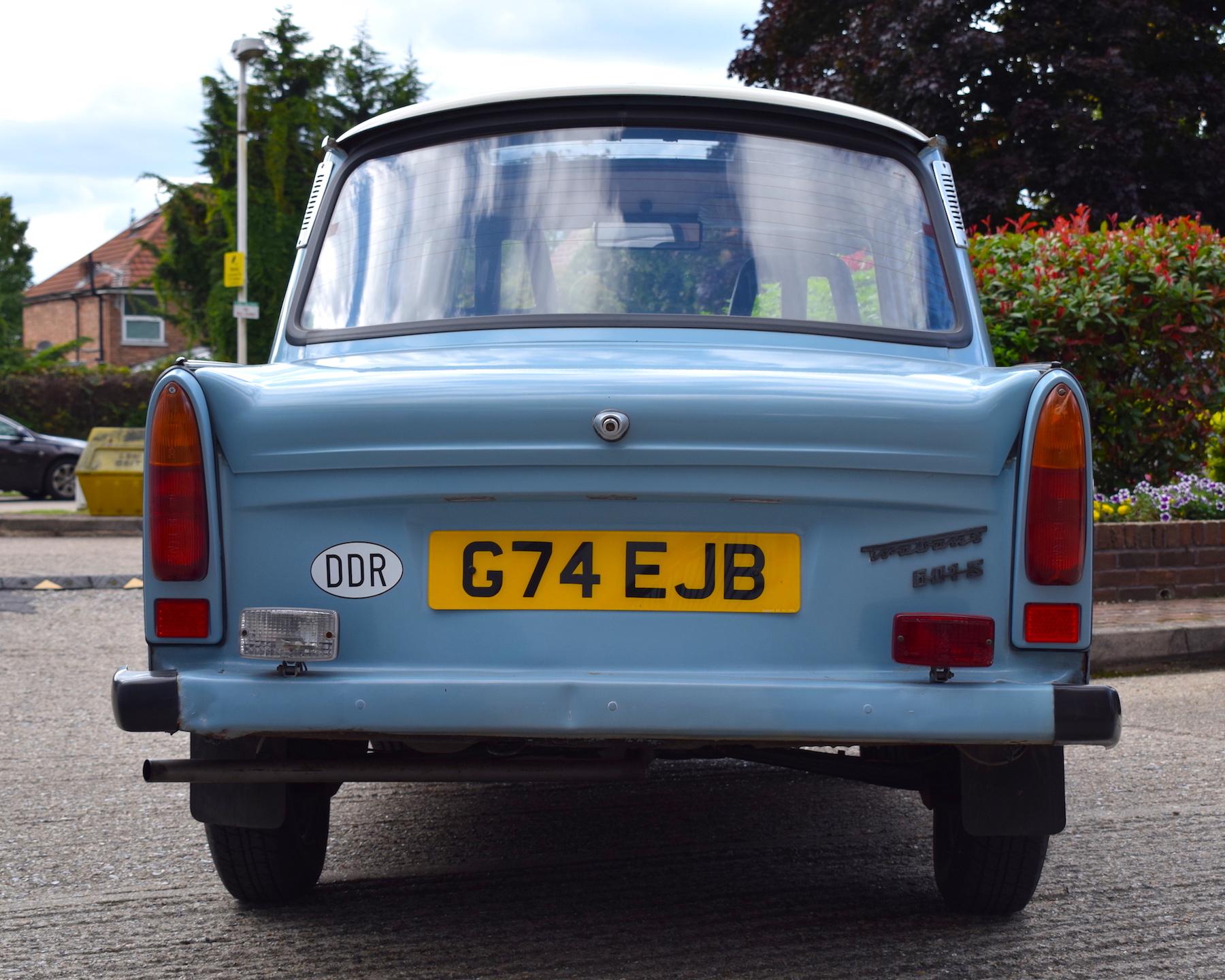 Trabant 601 rear view