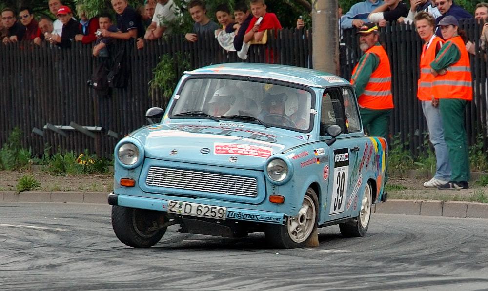Trabant rally car
