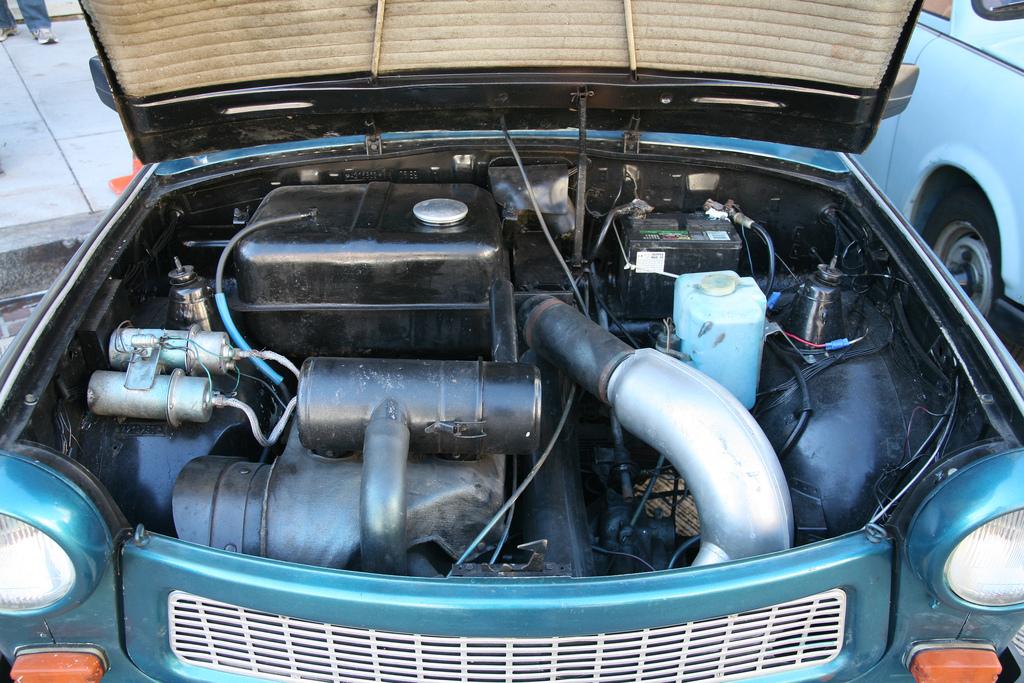 Trabant 601 engine