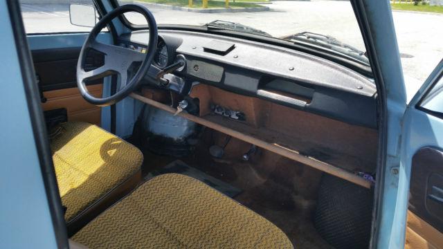 Trabant 601 interior