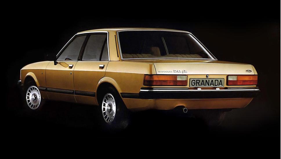 Ford Granada mark 2 rear
