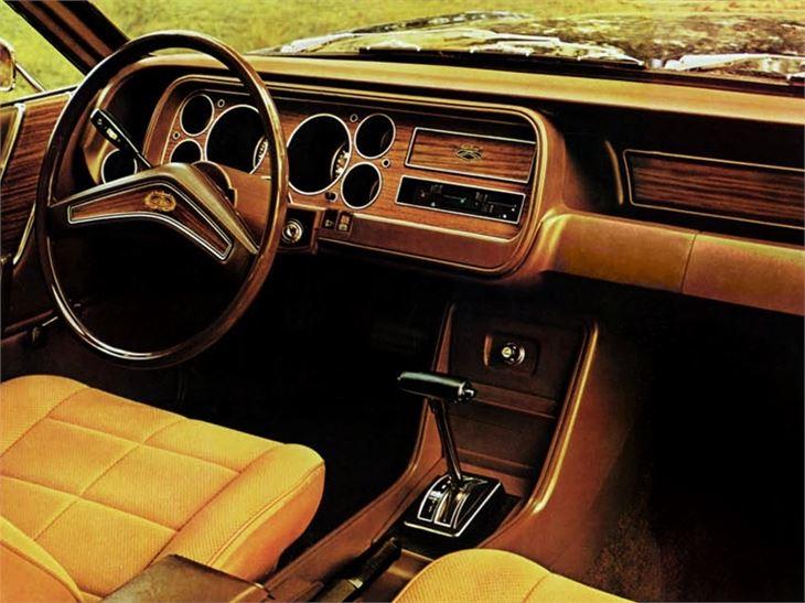 Ford Granada mark 1 interior