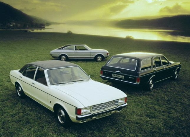 Ford Granada mark 1 group