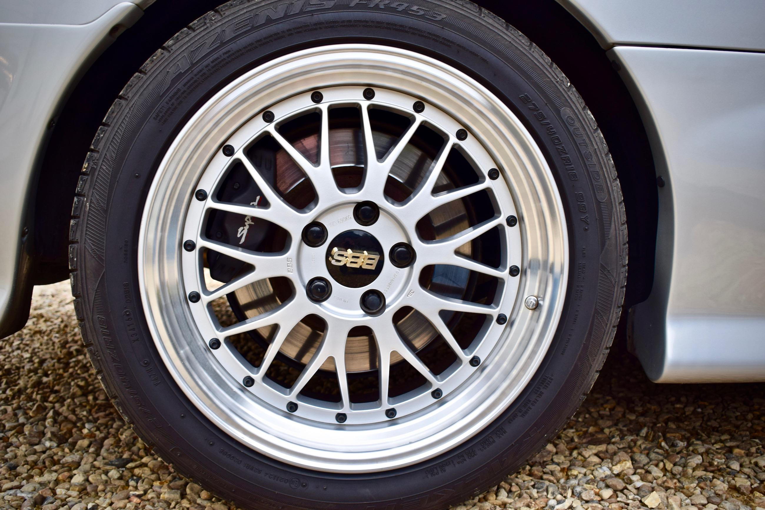Toyota Supra BBS alloys