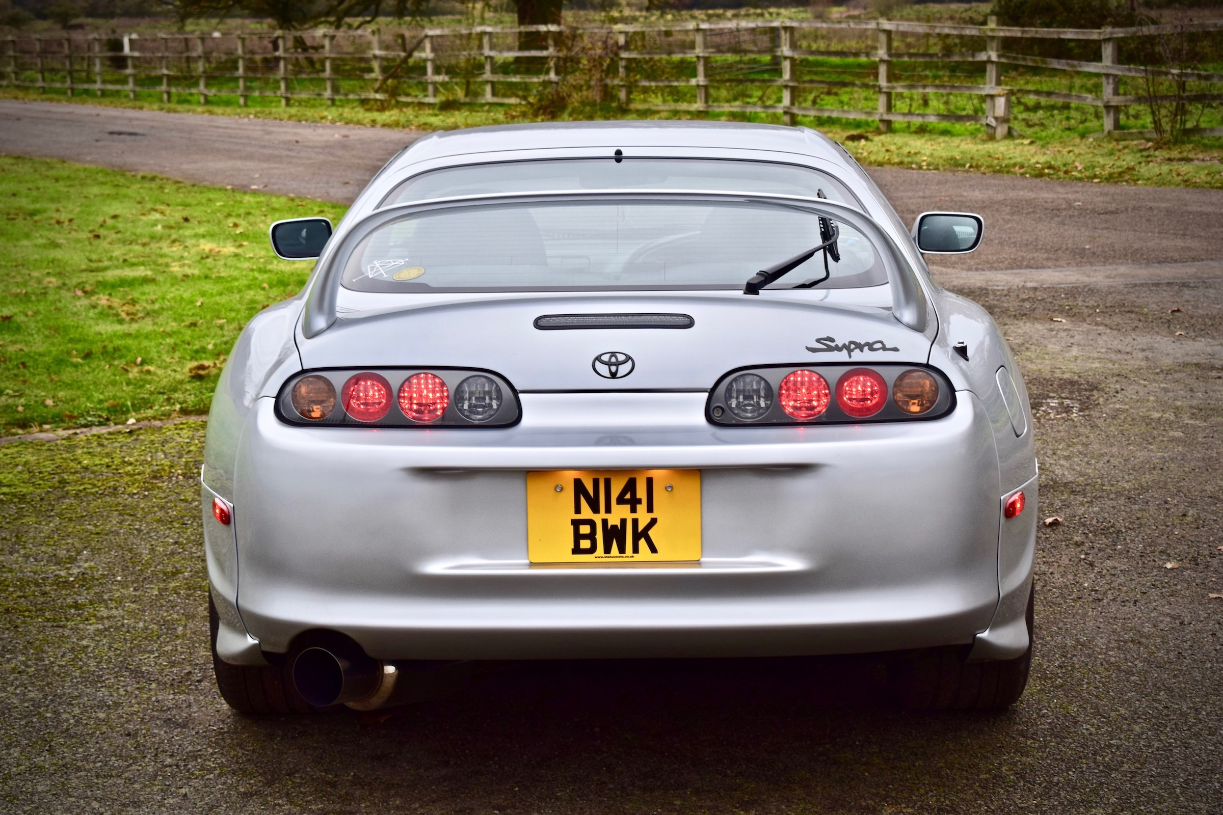 Toyota Supra mark 4 rear