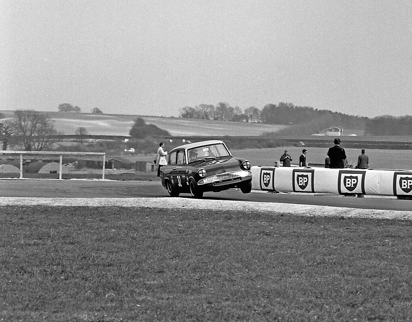 Ford Anglia Thruxton racing
