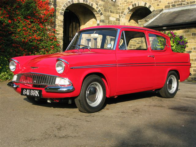 Superspeed Ford Anglia