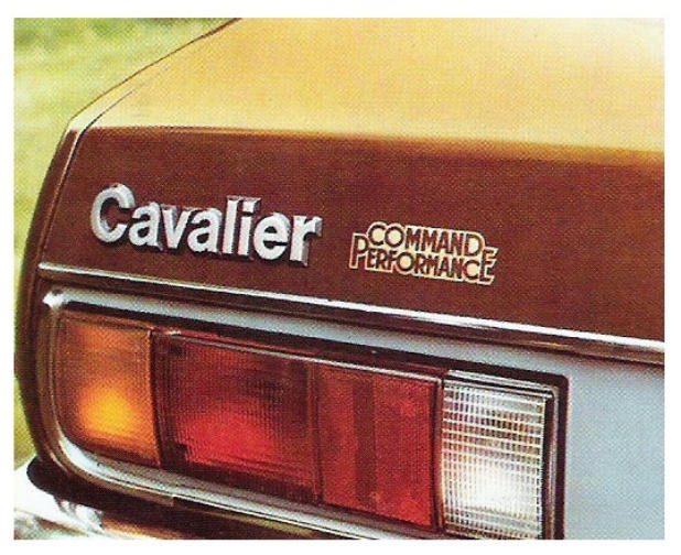 Cavalier command performance