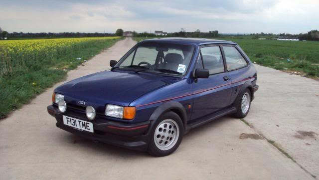 Fiesta XR2 mark 2