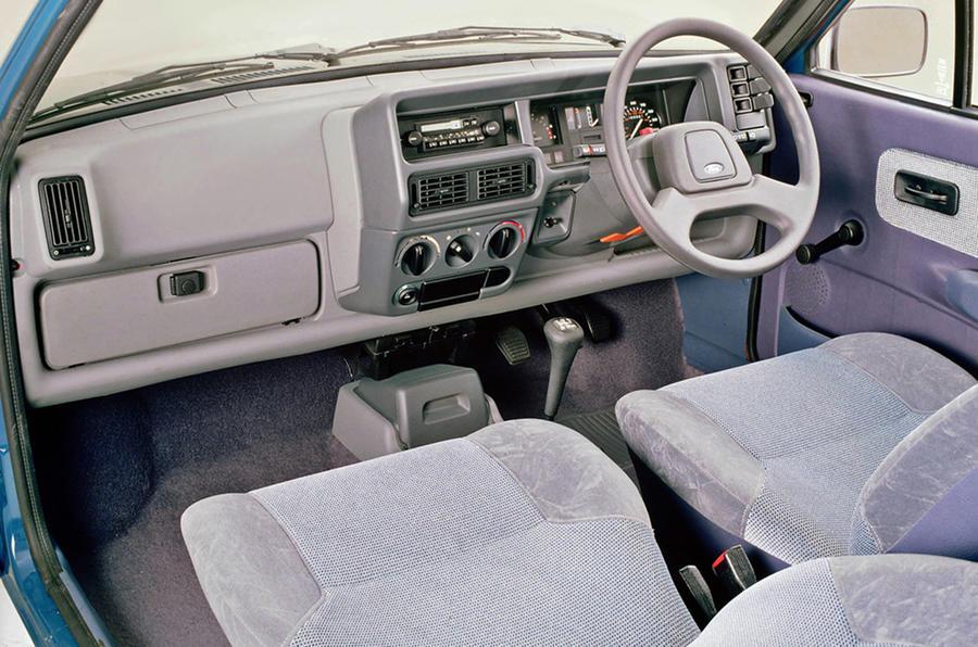 Ford Fiesta mark 2 interior