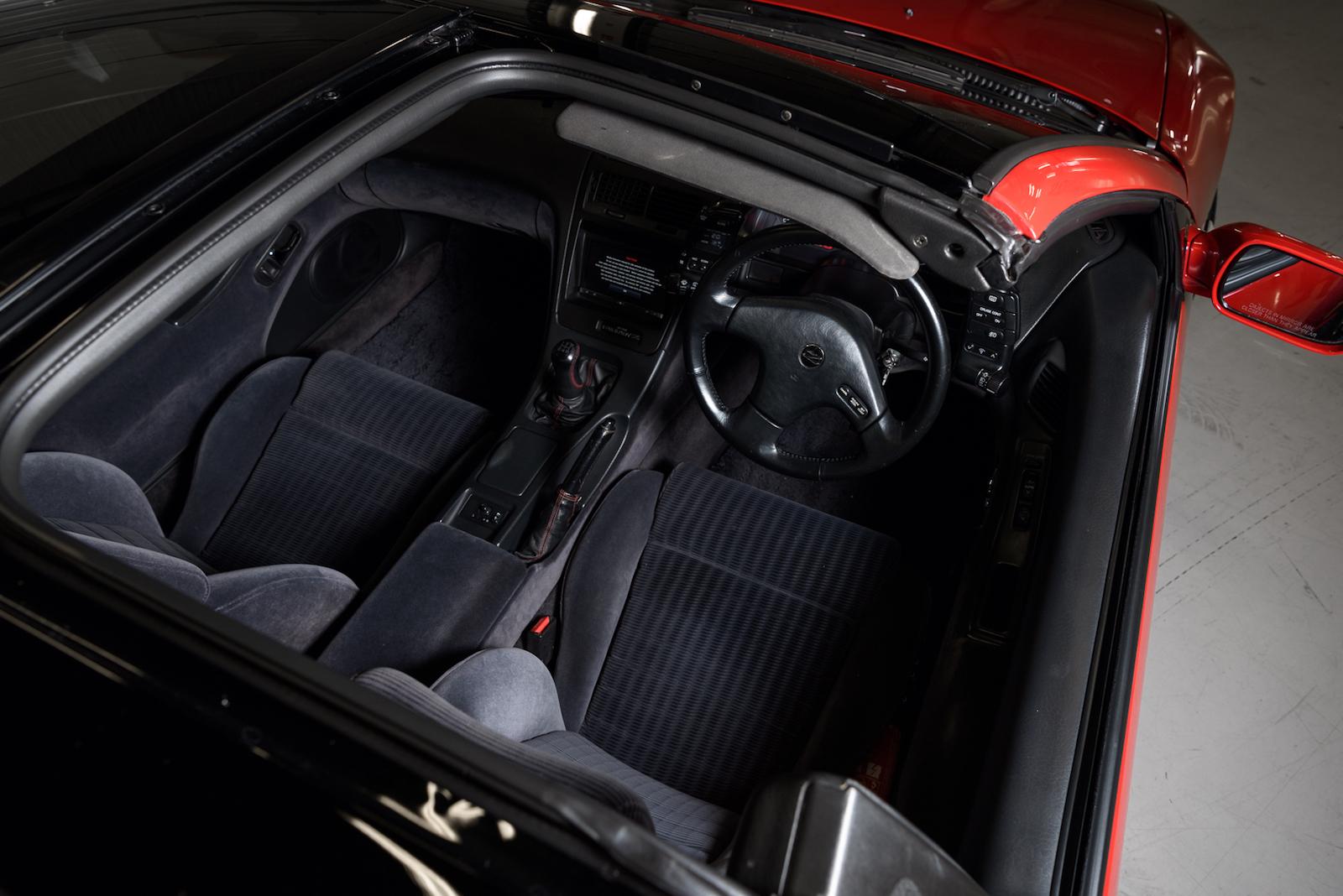 Nissan 300ZX interior