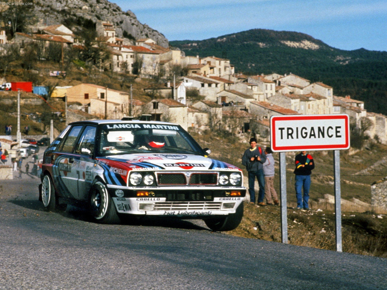 Lancia Delta Integrale 16v rally car