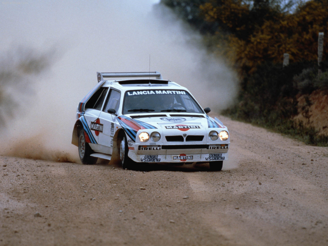 Lancia Delta S4 Group B rally car