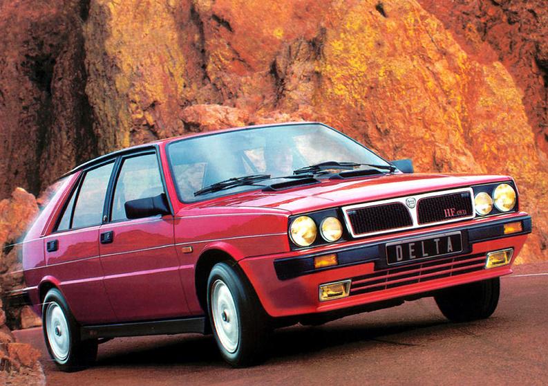 Lancia Delta HF Turbo 4WD