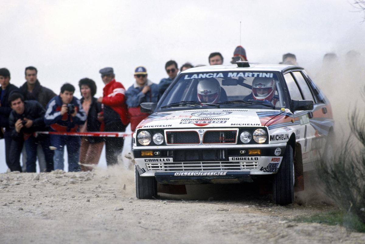 Lancia Delta Integrale 8v rally