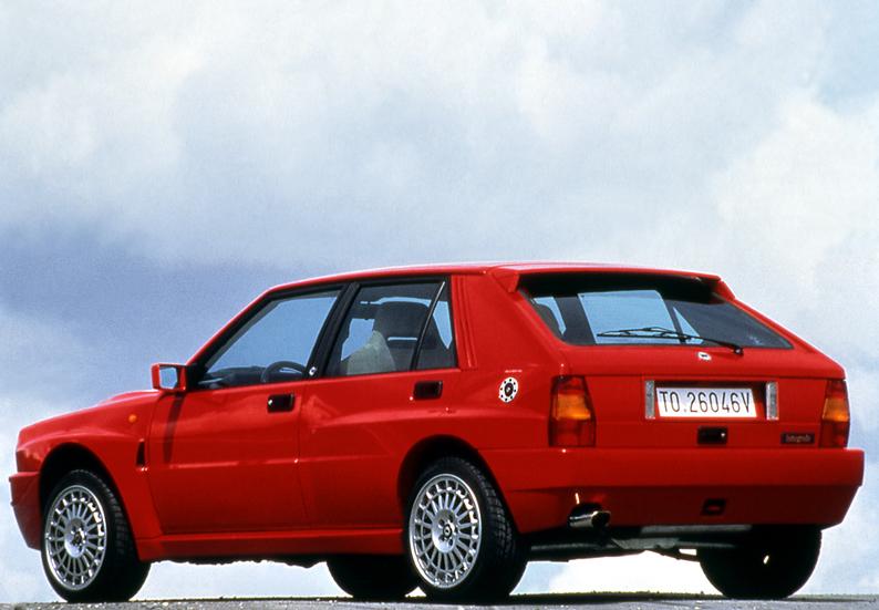 Lancia Delta Integrale Evo II rear