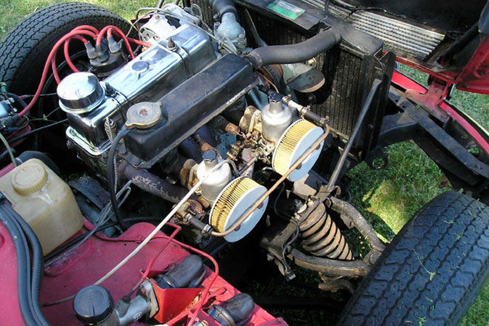 Triumph Spitfire mark 1 engine