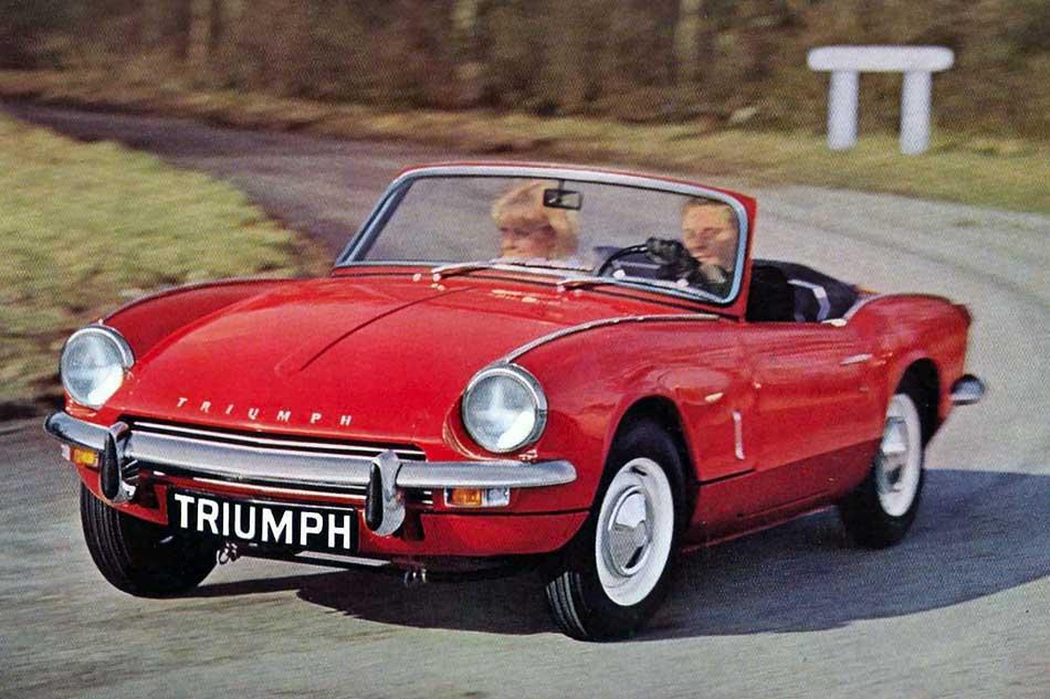 Triumph Spitfire mark 3