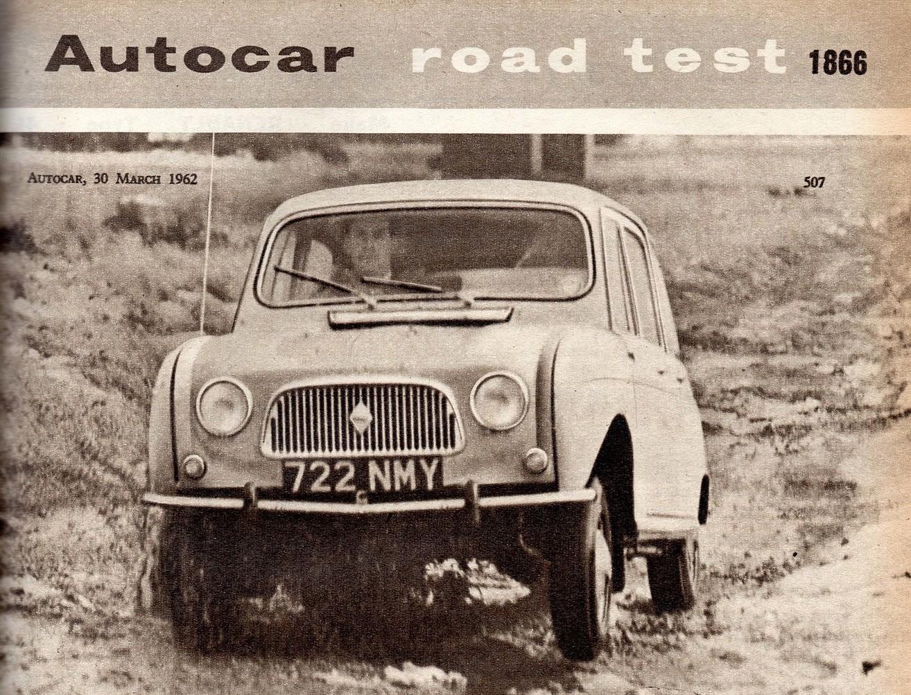 Renault 4 Autocar