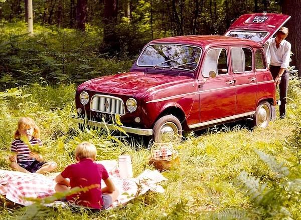 Renault 4L 1962