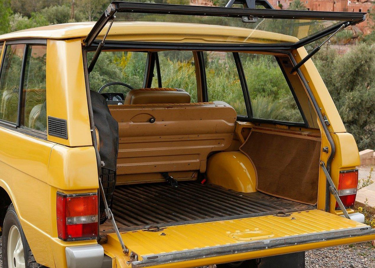 Range Rover 1970 boot