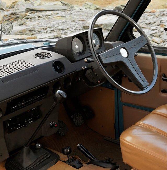 Range Rover 1970 interior