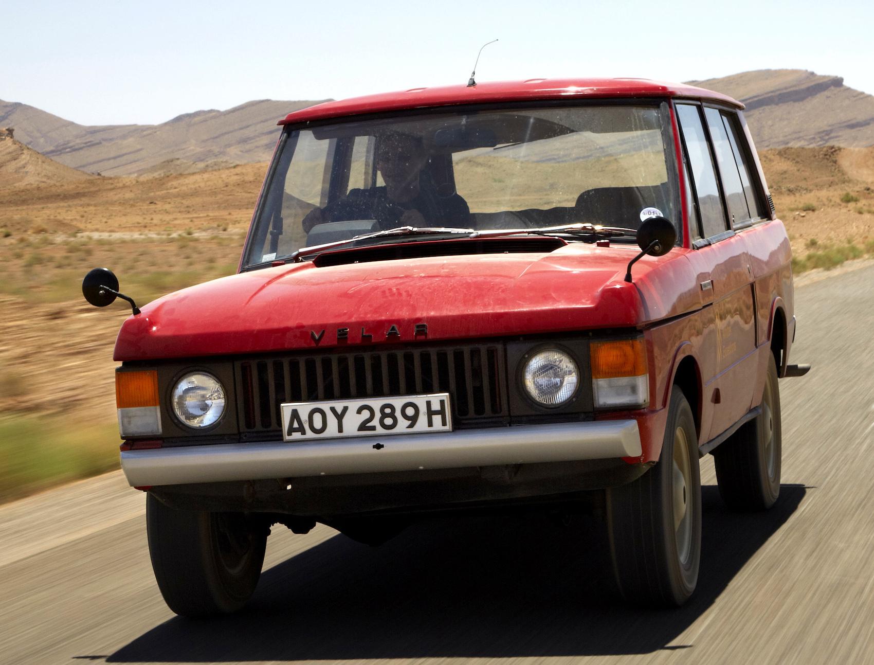 Range Rover concept Velar