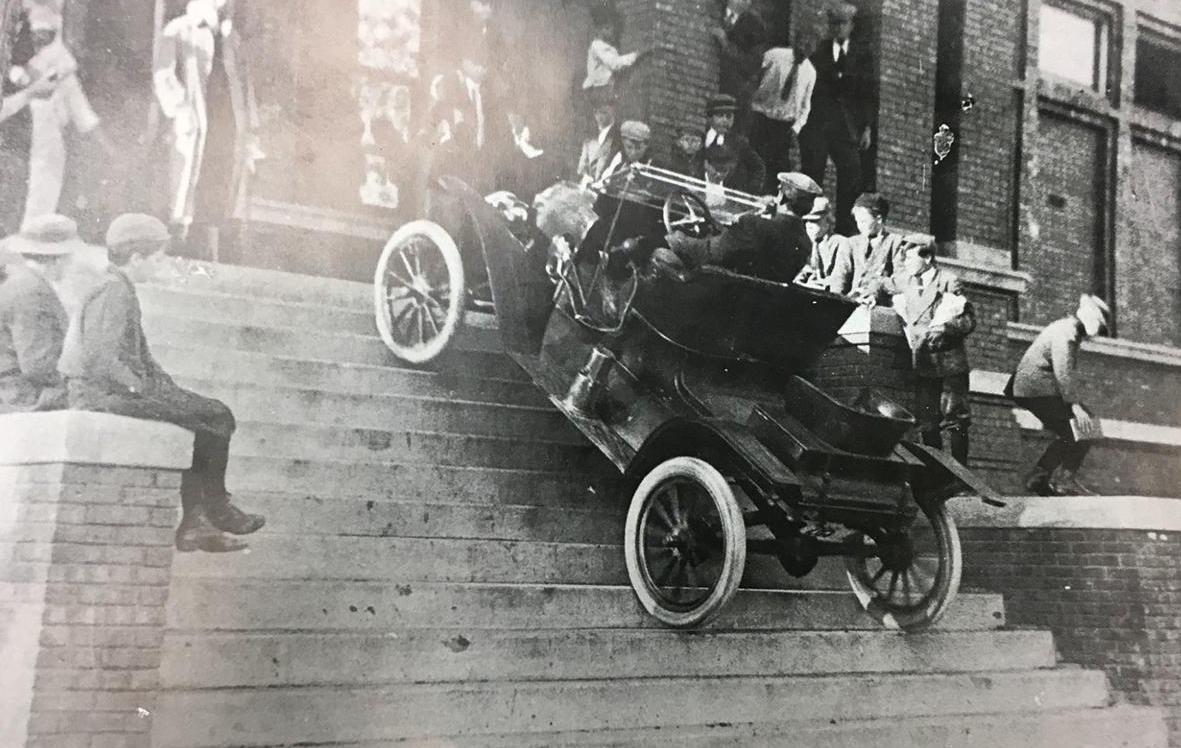 Model T up steps
