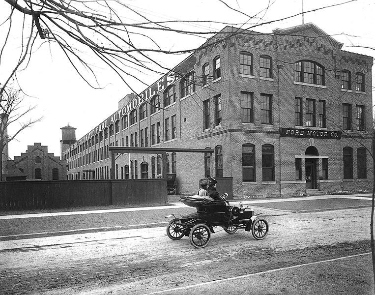 Piquette Avenue plant 1906