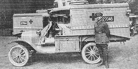 Ford Model T ambulance WWI