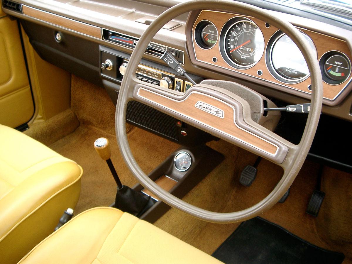 Austin Allegro Quartic steering wheel