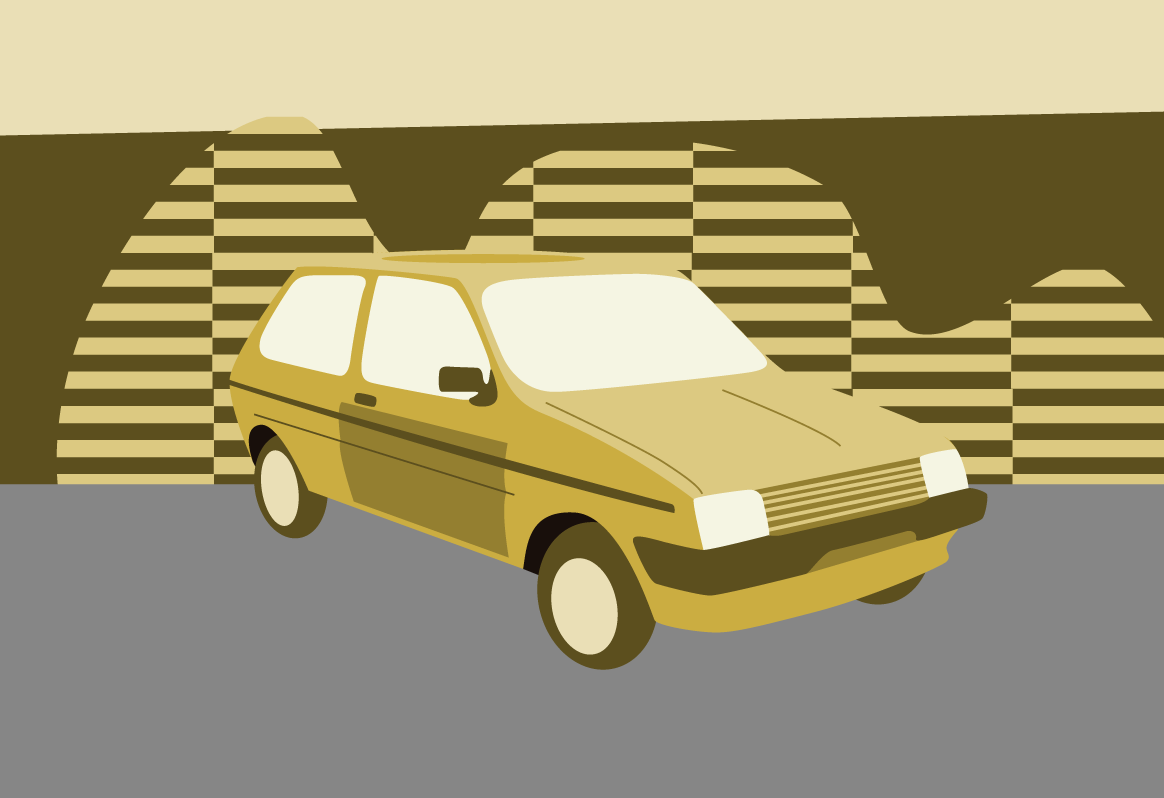 Austin Metro illustration