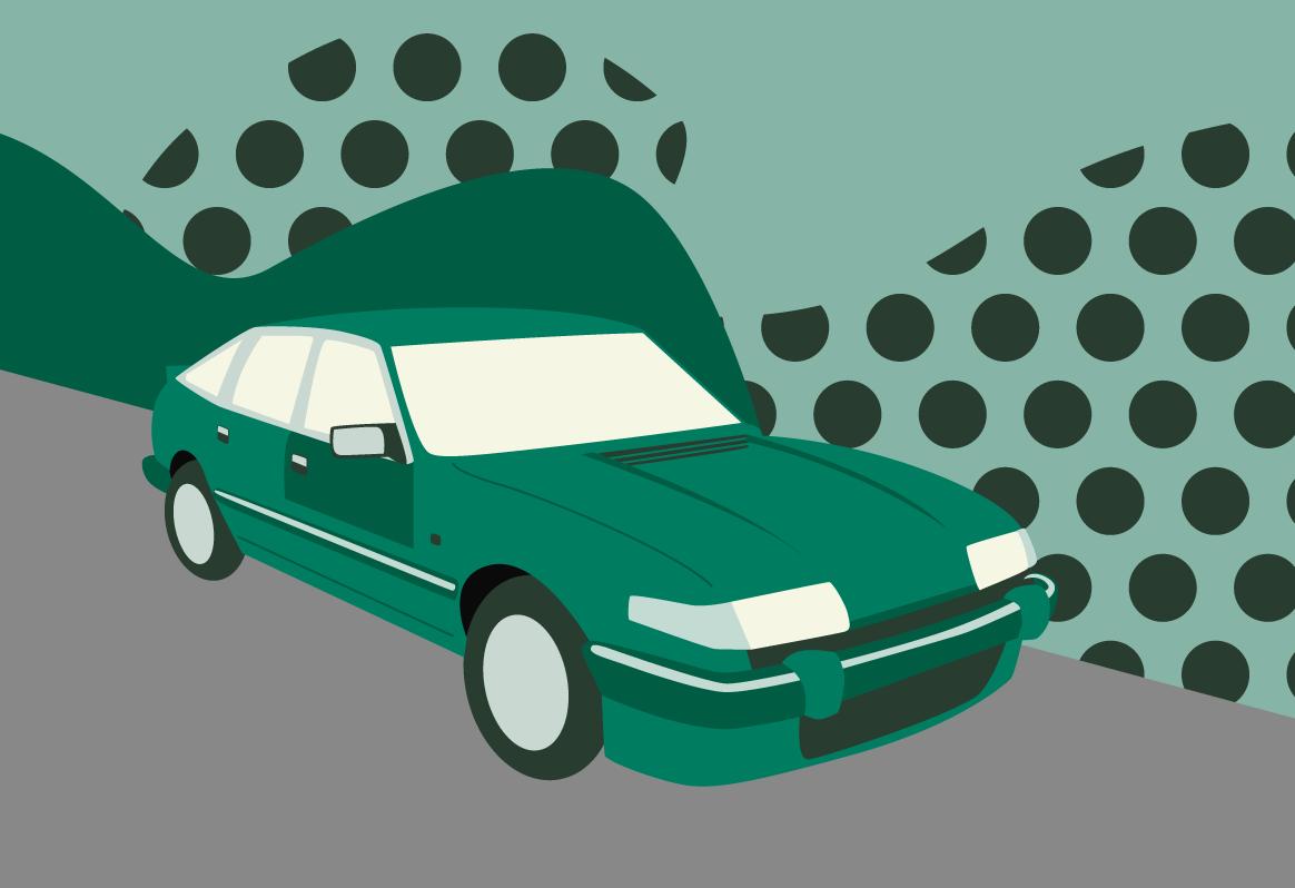 Rover SD1 illustration