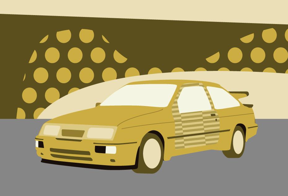 Cosworth illustration