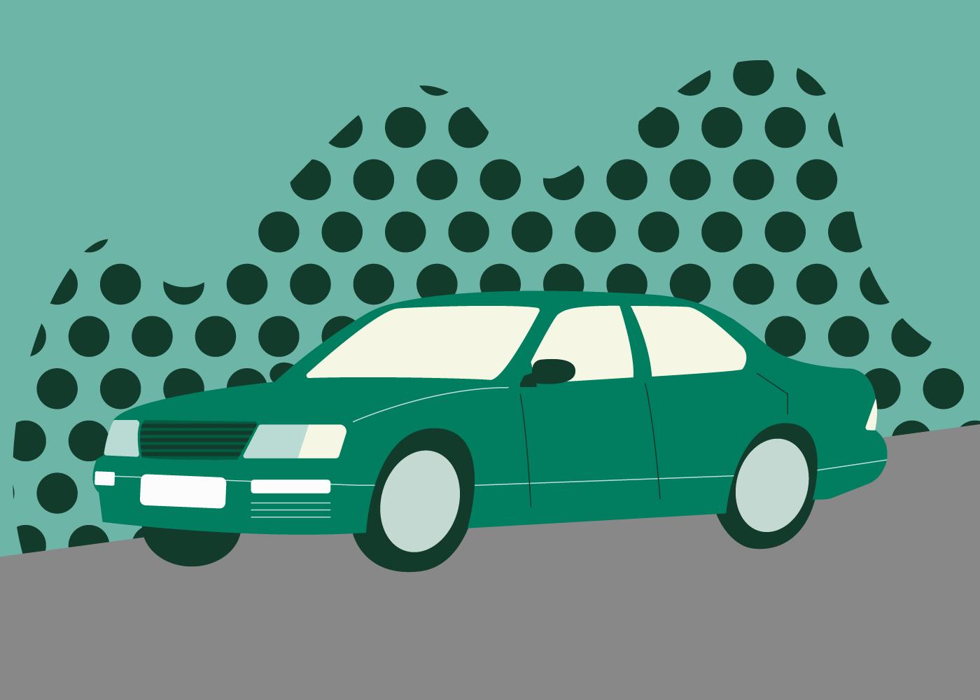 Lexus LS 400 illustration