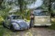Ben Emerson with his VW Campervan and Beetle. Photo credit ©Simon Finlay Photography.