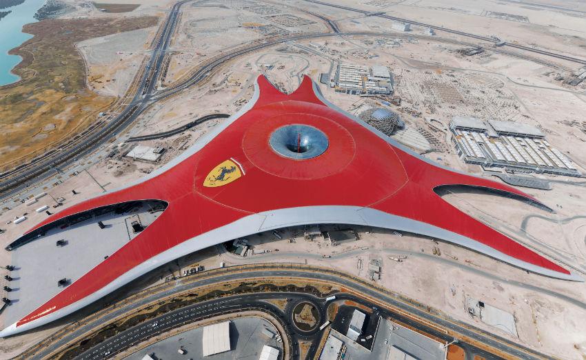 Ferrari-world-construction1