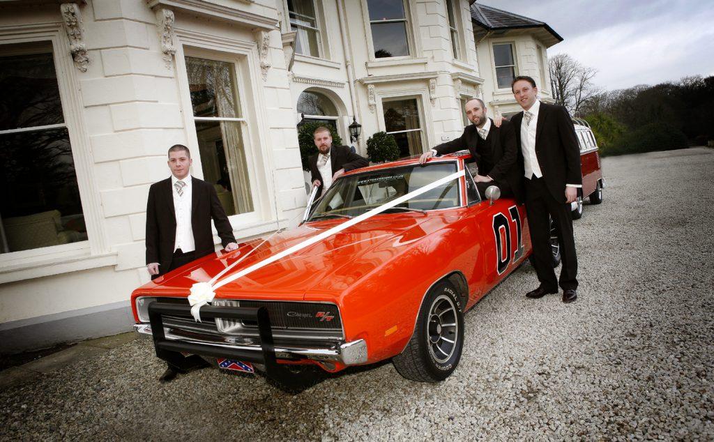 Dukes of Hazzard Wedding Car