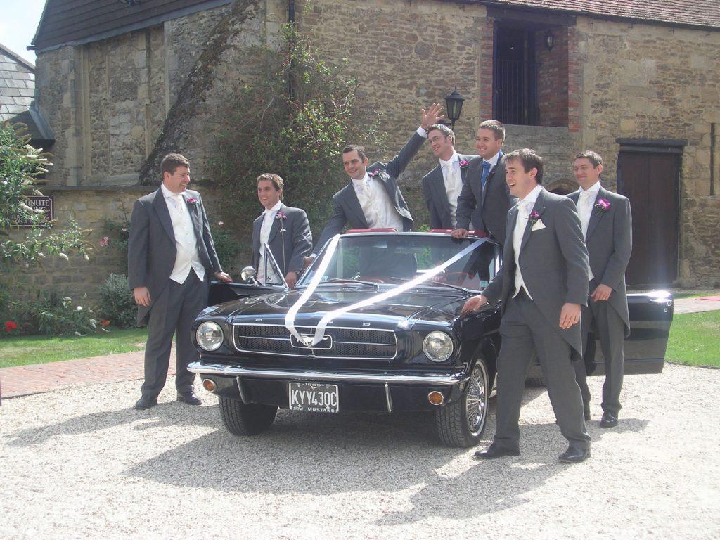 Steve McQueen's Bullitt Mustang Wedding Car