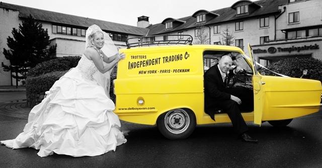 Reliant Wedding Car