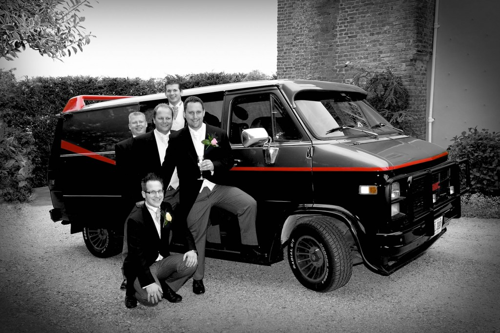 GMC A Team Van Wedding Car