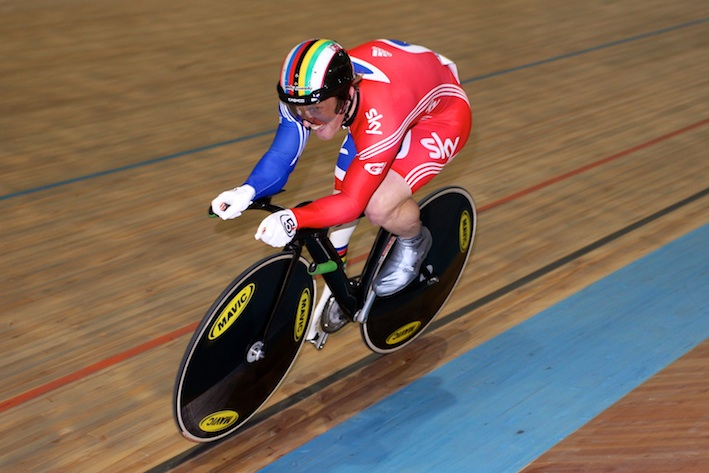 Jody at the UCI Para-Cycling Track World Championships Montichiari (c) Christina Kelkel