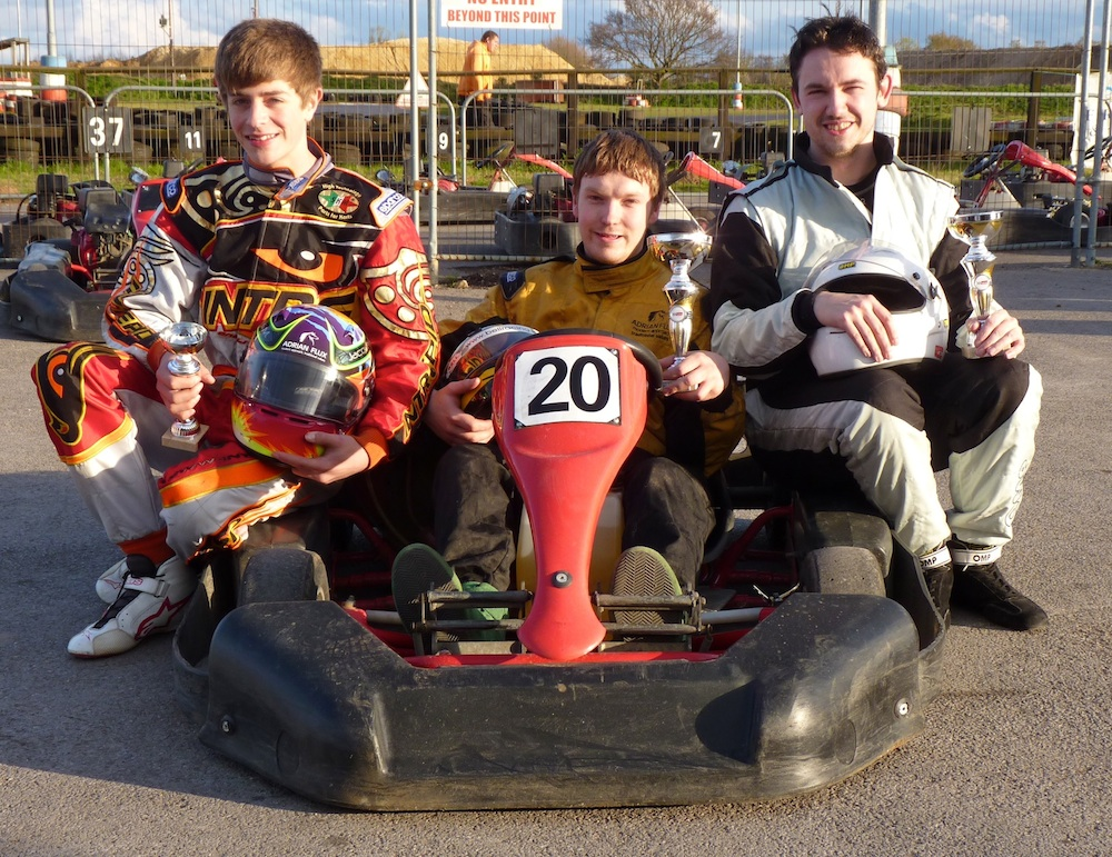 Karting prodigy Jacques joins Flux fun day out