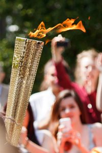 Insurance warning for Olympic torchbearers