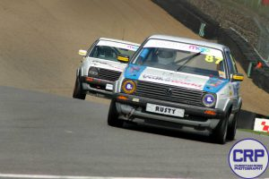 Rusty in action at Brands Hatch